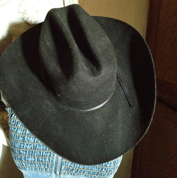b15af2210496a Texan MHT man s man cowboy hat size 7 ⅜. M 5bfe39cdbaebf6c25eabc912